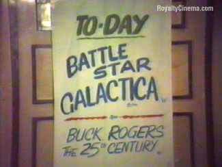 Poster in the Royalty for Battlestar Galactica