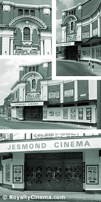 The Jesmond Picture House in 1981. In later years it was known as the Jesmond Cinema